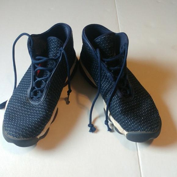 buy popular 09590 92afa Jordan Other - Nike Air jordan navy horizon knit shoes 10